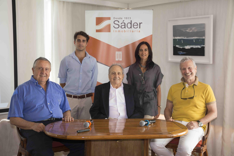 Carlos A. Lecueder, Juan Andrés, Luis y Florencia Sáder, Ernesto Kimelman (1)
